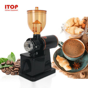 For Home Commercial Electric Automatic Espresso Coffee Grinder Burr Mill Machine
