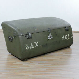 Maybach vintage car rear trunk DS8 SW38 US-Army 6th armored division Headquarter