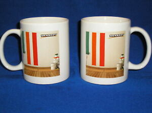 2  Menards Coffee Mug -Home Improvement Painting- Theme
