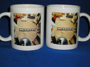 2  Menards Coffee Mug -Shop Theme - Woodworking