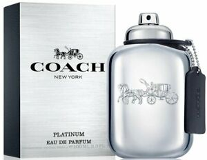 COACH NEW YORK PLATINUM by Coach cologne for men EDP 3.3 3.4 oz New in Box