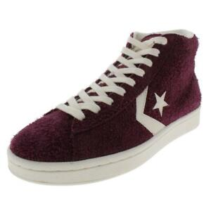 Converse Mens Suede High Top Trainer Skate Shoes Sneakers BHFO 6193