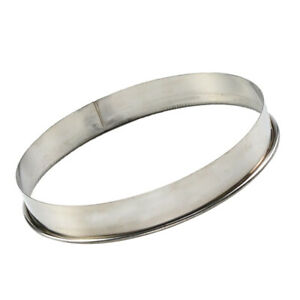 Stainless Steel Pizza Saucing Ring for Pizza Pan Oven Tray Pastry Cutter 12
