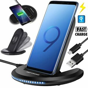 Qi Wireless Charger Charging Pad for iPhone XSMaxXR8Plus Galaxy Note 9S10