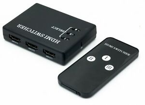 3 Port HDMI Switch Switcher Splitter for HDTV HD 1080P PS3 PS4 xbox 360 one