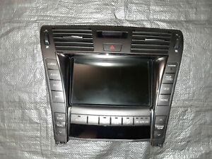 Info GPS TV Screen Display Screen Navigation  07 08 09 LEXUS LS460 2007 2008