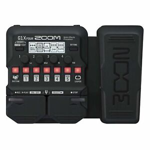 Zoom G1X Four Guitar Effects Processor with Built In Expression Pedal