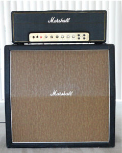 1966 Marshall JTM 45 with Leather Handle '67 Cab