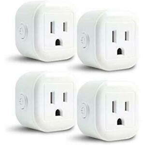 GoldenDot WiFi Outlet Switches Mini Plug Smart Home Power Control Socket Your