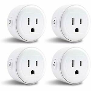 Greendot Wifi Outlet Switches Smart Plug Mini Home Power Control Socket Remote