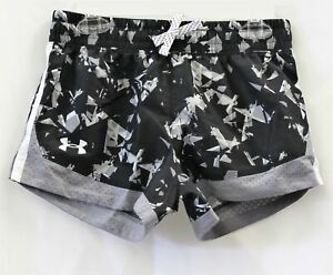 Under Armour Big Girls Printed Sprint Shorts Size YMD