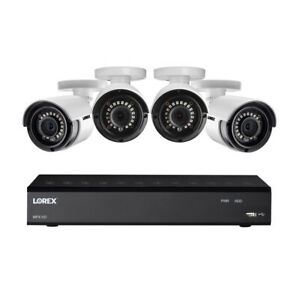 Lorex HD Security Camera System with DVR and Four 1080p Bullet Cameras