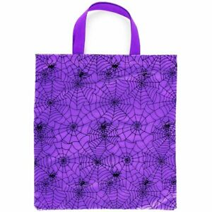 Halloween Spider Web Trick or Treat Tote Bag