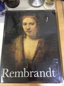Rembrandt Paintings by Horst Gerson HB DJ 1st ed 1968 $80.00