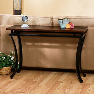 Entry Table Sofa Accent Furniture Wood Console Hallway Hall Foyer End Wooden $149.99
