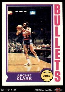 1974 Topps #172 Archie Clark Bullets (Wizards) NM