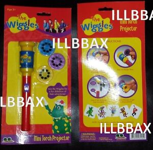NEW Wiggles LIVE Mini Master Torch Projector 3 Slides View Viewer Toddler NIP $19.95