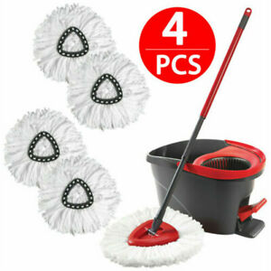 Replacement Microfiber Mop Head Easy Clean Wring Refill For O Cedar Spin Mop USA