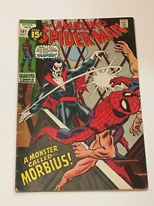 The AMAZING SPIDER-MAN #101 1st Appearance Morbius VG- MARVEL