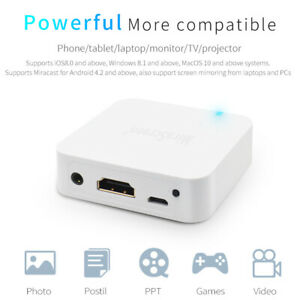 For iOS Android Car WiFi Display Mirror Link Box Adapter MiraScreen DLNA Airplay