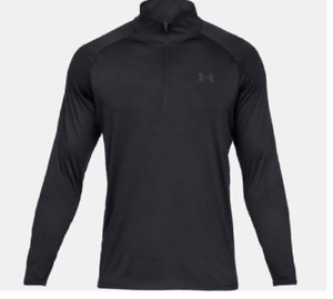Under Armour Mens UA Tech 12 Zip Long Sleeve New Tall Mens 4XLT 1328495 001