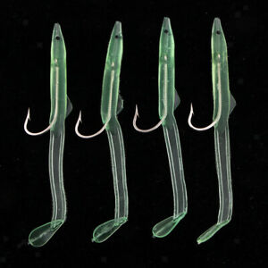 Perfeclan Fishing Jigs Soft Fishing Lures With Hook Swimbaits for Saltwater