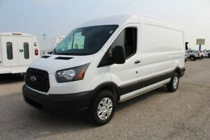 """2018 Ford Transit Connect T-350 148"""" Med Rf 9500 GVWR Sliding RH Dr 2018 Ford Transit Van Oxford White - White with 3 Miles available now!"""