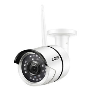 ZOSI HD 1080P WIFI Wireless IP Outdoor Security Bullet Home Camera Night Vision