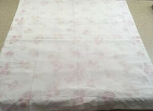 Assurance Couleur Pair Euro Shams Made France White Pink French Country