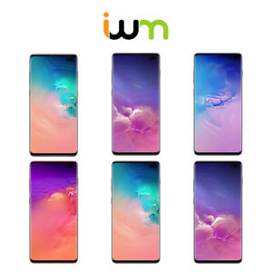 Samsung Galaxy S10 Plus 128GB  256GB  512GB - Black  Blue  Pink  White