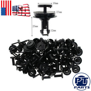 50pcs Air Dam Deflector Valance Front Bumper Clips For Chevy Silverado 1500 2500 $10.22