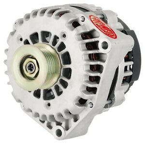 Powermaster 48237 Alternator GM AD244 255 Amp w4 Pin Voltage Regulator Natural