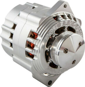 CVR PERFORMANCE 100 amp 1-Wire Natural Delco Race Alternator PN 8106CL
