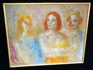 1930s New York Expressionist Painting