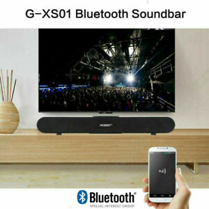 TV Sound Bar Home Theater Subwoofer Soundbar with Wireless  Wired Sound BOX US