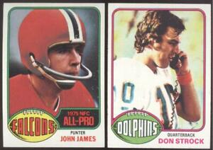1976 TOPPS FOOTBALL - YOU PICK NUMBERS #201 - #400 - NMMT OR BETTER