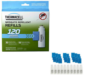 Thermacell Mega Refill Pack (R-10): 30 Mats and 10 Butane Cartridges Free Ship!