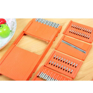 Dicer Cutter Chopper Grater Vegetable Fruit Potato Mandolin Slicer Peeler CF