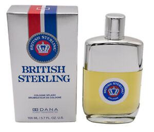 British Sterling by Dana 5.7 oz Cologne for Men New In Box $17.02