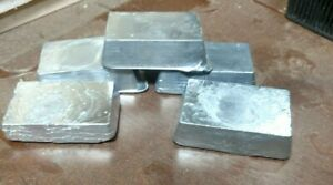 25 lbs Refined High Purity Range Lead Ingots for Casting Bullets Sinkers...