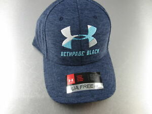 Under Armour Golf Hat Bethpage Youth Blue Teal Classic Fit Adjustable Teen