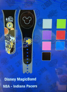 NEW DISNEY PARKS Indiana Pacers Mickey Magic Band Magicband Unlinked Any Color