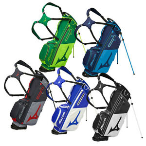 New Mizuno BR-D3 Stand Golf Bag FULL LENGTH DIVIDERS DUAL STRAPS - Pick Color