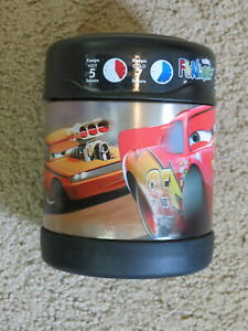 NEW Disney Cars Thermos Funtainer 10 oz lunch box insulated food jar