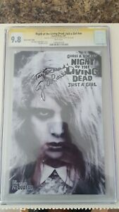 NIGHT OF THE LIVING DEAD JUST A GIRL • CGC SS 9.8 • 1000 • SIGNED GEORGE ROMERO