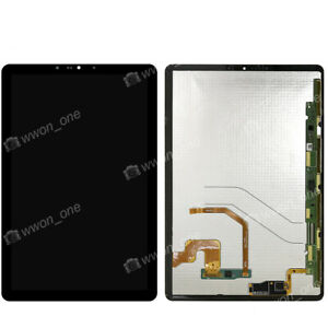 Black Samsung Galaxy Tab S4 10.5 T835 LCD Display Touch Assembly Replacement