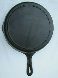 Vintage Lodge No. 6 #6 Cast Iron Skillet 3 Notch Heat Ring