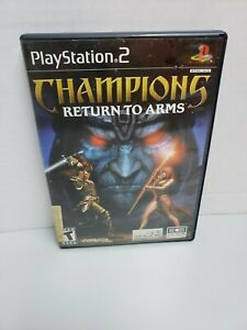 Champions Return to Arms (Sony Playstation 2) PS2 No Manual