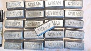 100 lbs of clean lead Ingots - For casting bullets sinkers jigs Bh 10-12