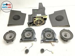 2003-2007 HUMMER H2 FRONT REAR AUDIO SPEAKER WOOFER TWEETER BOSE SPEAKERS SET-9